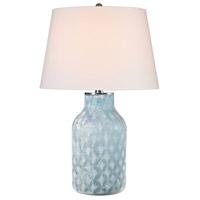 Dimond Lighting D2922 Sophie 31 inch 100 watt Santa Monica Blue Table Lamp Portable Light