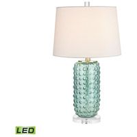 Caicos 25 inch 9.5 watt Green Table Lamp Portable Light