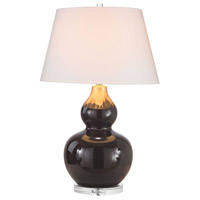 Dimond Treacle 1 Light Table Lamp in Chocolate Glaze & Molten Gold D2925