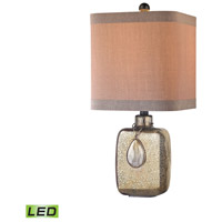 Dimond Lighting Cadiz 1 Light Table Lamp in Bronze Mercury D2926-LED
