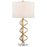 Dimond Castile 1 Light Table Lamp in Gold Leaf D2931
