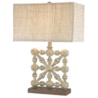 Dimond Lighting D2941 Biscay 24 inch 100 watt Castlebawn Stone Table Lamp Portable Light