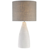 Dimond Lighting D2949 Rockport 21 inch 60 watt Polished Concrete Table Lamp Portable Light