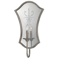 Gruyere 1 Light 14 inch Antique Silver Wall Sconce Wall Light