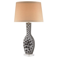 Dimond Lighting D3010 Silkfloss 30 inch 60 watt Bronze Glaze Table Lamp Portable Light
