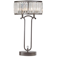Dimond Lighting D3011 Rudolfo 30 inch 40 watt Bronze/Clear Table Lamp Portable Light