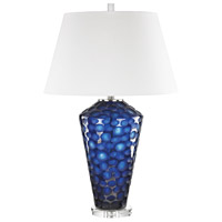 Ebullience 29 inch 150 watt Blue Table Lamp Portable Light