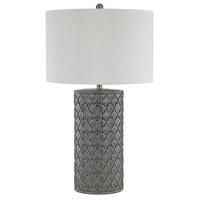 Dimond Lighting D3063 Ceramic 29 inch Grey Glaze Table Lamp Portable Light