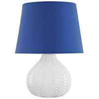 Dimond Lighting D3094N Aruba 19 inch 100 watt White Outdoor Table Lamp in Incandescent