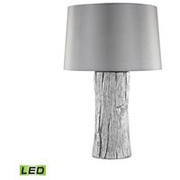 Kanamota 26 inch 9.5 watt Silver Outdoor Table Lamp in LED