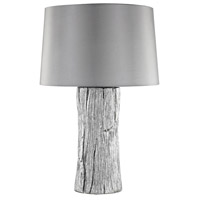 Kanamota 26 inch 100 watt Silver Outdoor Table Lamp in Incandescent