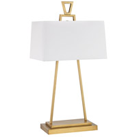 Hellenikon 33 inch 60 watt Antique Brass Table Lamp Portable Light in Incandescent