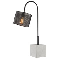 Dimond Lighting D3139 Scotland Yard 29 inch 40 watt Polished Concrete and Black Table Lamp Portable Light