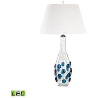 Confiserie 30 inch 9.5 watt Blue Table Lamp Portable Light in LED