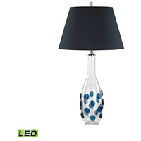 Dimond Lighting D3164-LED Confiserie 30 inch 9.5 watt Blue Table Lamp Portable Light in LED
