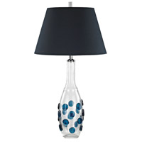 Confiserie 30 inch 150 watt Blue Table Lamp Portable Light in Incandescent
