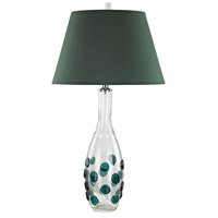Confiserie 30 inch 150 watt Green Table Lamp Portable Light in Incandescent