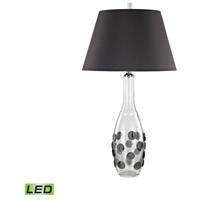 Confiserie 30 inch 9.5 watt Grey Table Lamp Portable Light in LED