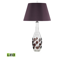 Confiserie 30 inch 9.5 watt Garnet Table Lamp Portable Light in LED