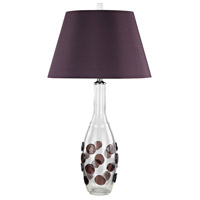 Confiserie 30 inch 150 watt Garnet Table Lamp Portable Light in Incandescent