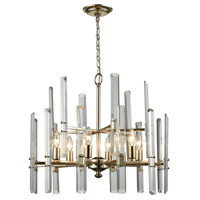 Dimond Lighting D3199 Arthur 6 Light 24 inch Antique Silver Leaf Chandelier Ceiling Light photo thumbnail