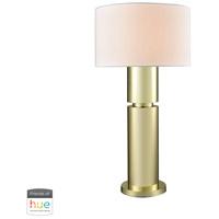 Dimond Lighting D3204-HUE-B Nikki 34 inch 60 watt Gold Plate Table Lamp Portable Light