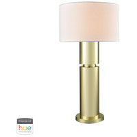 Dimond Lighting D3204-HUE-D Nikki 34 inch 60 watt Gold Plate Table Lamp Portable Light
