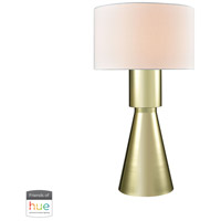 Dimond Lighting D3205-HUE-B Paris 33 inch 60 watt Gold Plate Table Lamp Portable Light