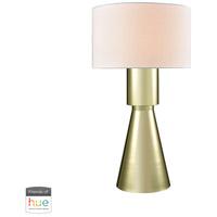 Dimond Lighting D3205-HUE-B Paris 33 inch 60 watt Gold Plate Table Lamp Portable Light