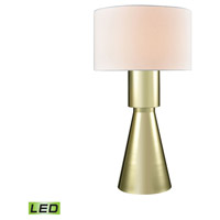 Paris 33 inch 9.5 watt Gold Plate Table Lamp Portable Light in LED