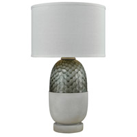Dimond Lighting D3286 Reykjavik 27 inch 100 watt Polished Concrete and Grey Outdoor Table Lamp