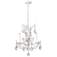 Dimond Lighting D3316SET Big Sky 3 Light 23 inch White Chandelier Ceiling Light