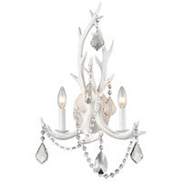Dimond Lighting D3319SET Big Sky 2 Light 15 inch White/Clear and Frosted Crystal Sconce Wall Light