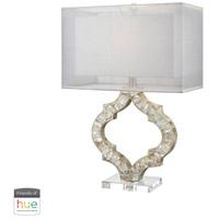 Dimond Lighting D3327-HUE-B San Sebastian 26 inch 60 watt Natural Mother of Pearl Table Lamp Portable Light