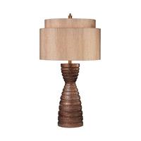 Dimond Lighting Hammered 1 Light Table Lamp in Burton Bronze Composite D335