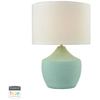 Curacao 17 inch 60 watt Spearmint Table Lamp Portable Light