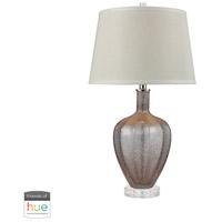 Dimond Lighting D3442-HUE-D Gia 27 inch 60 watt Mauve Table Lamp Portable Light