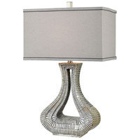 Dimond Lighting D3473 Kasmira 29 inch Grey Reactive Glaze with Dry Antique Table Lamp Portable Light