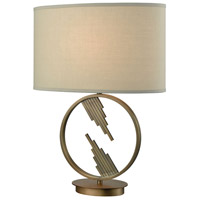 Dimond Lighting D3484 Empire Statement 24 inch Weathered Antique Brass Table Lamp Portable Light