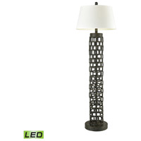 Rook 62 inch Bronze Floor Lamp Portable Light