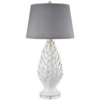 Dimond Lighting D3498 Fontvieille 35 inch 100 watt Matte White Table Lamp Portable Light