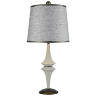 Dimond Lighting D3504T Tryst 32 inch 150 watt Concrete/Matte Black Table Lamp Portable Light