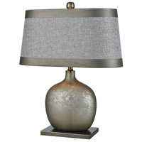 Dimond Lighting D3505 Iago 25 inch 150 watt Pewter/Grey Tierra Table Lamp Portable Light