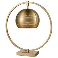 Atmospheric Circulation 22 inch Cafe Bronze Table Lamp Portable Light