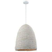 A Loom In Essence 1 Light 17 inch White Pendant Ceiling Light
