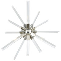 Ice Geist 3 Light 24 inch Polished Nickel and Clear Crystal Wall Sconce Wall Light