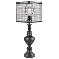 Savile Row 29 inch Dark Bronze Table Lamp Portable Light