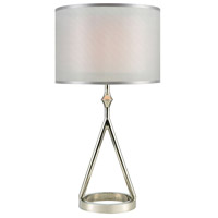 Dimond Lighting D3632 Queens Speech 27 inch Polished Nickel Table Lamp Portable Light