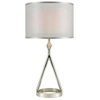 Dimond Lighting D3632 Queens Speech 27 inch 100 watt Polished Nickel Table Lamp Portable Light