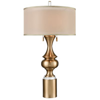 Vajra 34 inch Cafe Bronze Table Lamp Portable Light